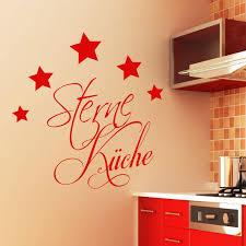 schriftzug 5 sterne küche