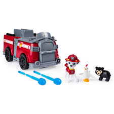 100 Rescue Bots Fire Truck PAW Patrol Marshalls Ride N Transforming 2in1 Playset