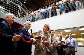Nebraska Furniture Mart s new Omaha headquarters has plenty of