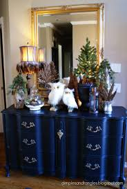 Dining Room Table Centerpiece Ideas by Dimples And Tangles Winter Entry And Dining Room Table Decor
