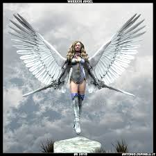 Warrior Angel By Burn86