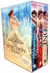 The Selection Collection Kiera Cass 3 Books Box Set By