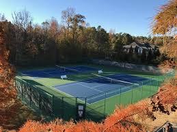 tennis court resurfacing backyard tennis courts sport court of