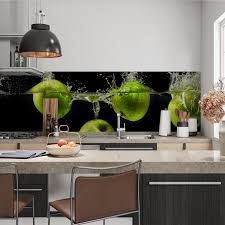 sonstige alle untergründe küchenrückwand selbstklebend äpfel