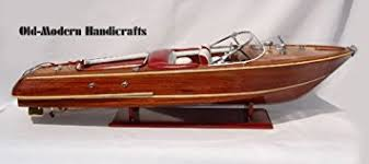 amazon com riva aquarama exclusive edition wooden boat model