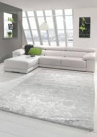 vintage teppich modern wohnzimmerteppich designteppich mit fransen in türkis