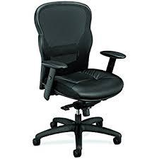 Fabric Task Chair Walmart by Amazon Com Basyx By Hon Mesh High Back Task Chair Black Hvl702