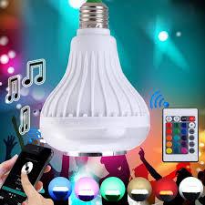 intelligent magic e27 light bulb rgb white colorful led l