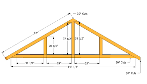 6x8 Wood Shed Plans by Get How To Build Trusses For A 12x16 Shed Haddi