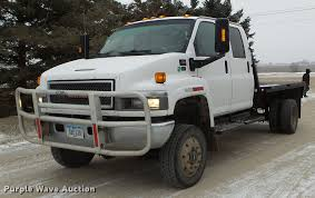 100 Gmc C4500 Truck 2005 GMC Flatbed Truck Item EW9863 Wednesday Janua