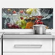 glasbilder küche spritzschutz in vielen designs
