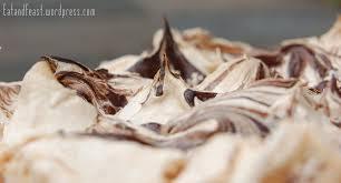 saftiger birnen schoko kuchen mit baiserswirl eat and feast