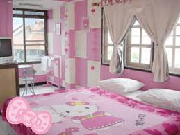 chambre hello chambre complete hello pink hello cat vinyl