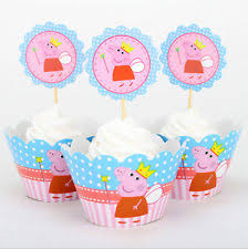 peppa pig cake decorations peppa pig cake toppers ebay