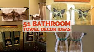 Bathroom Towel Decor As Bathroom Towel Decor Ideas Bathroom Towel ... Contemporary Bathroom Decorating Ideas With Unique Towel Storage And Small Paint Sets Blue Dark Beach Marble Vanity Coral Rug Bars For Bathrooms The New Way Home Decor Diy Rack Modern Picture 29 Holder 20 Really Inspiring Diy 9 Best Racks For 2019 Chic Amazoncom Hd Designs Bath Sky Kitchen Buying Guide How To Choose The Right Hgtv Gatco Fine Bathware Hdware And Accsories Towels Nice Way Of Adding Detail On Towel Without