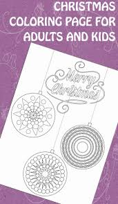 Christmas Tree Ornaments Printable Coloring Pages by 32 Best Christmas Coloring Images On Pinterest Christmas Crafts