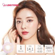 Delight 30 Pcs MAX Beauty In Gold Cherry 1Day Contact Lens BC
