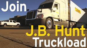 100 Over The Road Truck Driving Jobs JB Hunt The 2015 YouTube