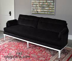 Barbie Living Room Furniture Diy by Decor Red Leather Tufted Sofa By Henredon Sofa For Home Furniture