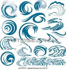 Tidal Wave Circle Clipart