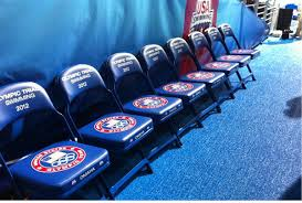 Custom Stadium Chairs For Bleachers by Sideline Chairs Athletic Seating Blog