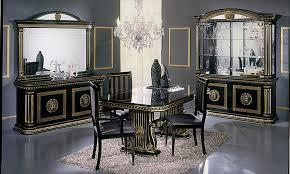 wohnzimmer esszimmer rossella schwarz hochglanz komp 2