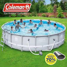 3D Inflatable Rectangular Family Pool 103 X 69