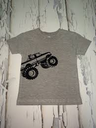 Monster Truck Shirt. #htv #silhouette | My Creations | Pinterest ...