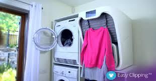 cette machine sèche repasse et plie le linge la lessive ne sera