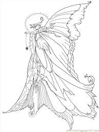 Animal Coloring Pages Fairies