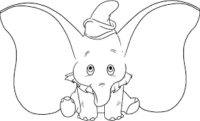 Cartoon Baby Elephant Cute Coloring Page Wecoloringpage Mom And Pages Animal