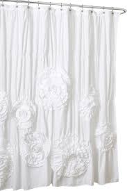 Lush Decor Curtains Canada by Celeste Shower Curtain Ivory Traditional Shower Curtains By