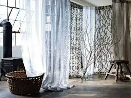 Ikea Lenda Curtains White by Colorful Curtains White Curtains Ikea With Tiebacks Pair X On