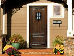 Door Mesmerizing Lowes Front Doors With Brown Colors And Black