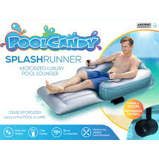 PoolCandy Splash Runner Dual Motor Powered Inflatable Pool ... For Sale Motorized Lounge Chair Used By Minnesota Drunk Robert Home Theatre Rocker Recliner Sofa Power Recliners Electric Lazboy Joy Fabric Gray Comfiest Couple Ever Cruises Around Los Angeles On Motorized Wayfair Intex Folding Lounge Chair Pool Float Sante Blog Best Lift Chairs 2019 Updated Top 10 Choices From 3 Experts Adjustable Floating Beautiful Poolcandy Splash Runner Dual Motor Powered Inflatable In The Market For A Duluth News