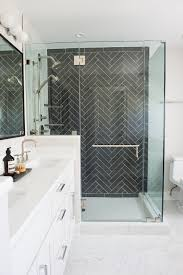 Black Herringbone Tile Bathroom, Black And White Bathroom | Shower ... Bathroom Floor Tiles Ideas Kscraftshack 57 Most Preeminent Subway Tile Bathrooms Daltile Glass Tile Design 38 Black And White Modish H Designs Stunning 30 Cileather Home Design Traditional America Undwater Decor 40 Wonderful Pictures And Ideas Of 1920s Bathroom Designs Modern Awesome Tub Shower Floor Decoration Tiles Grey From Pale Greys To Dark