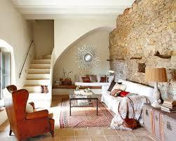 steinwand wohnzimmer 43 beispiele wie steine auf das