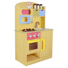 Play Kitchen Sets Walmart by Teamson Kids Little Chef Wooden Toy Play Kitchen With