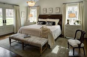 Bedroom Design Simple Nightstands For Storage In Your Bowl Pendant Lighting With White Curtains And