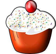Cupcake Food Sweet Dessert Bakery Birthday