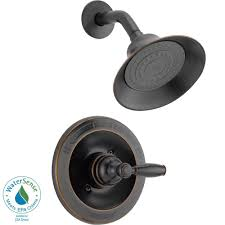 Peerless Single Handle Shower Faucet Trim Kit in Oil Rubbed Bronze