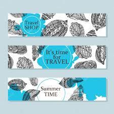 100 Sea Shell Design Hand Drawn Sea Shells Design For Postcard Banner Card Vector