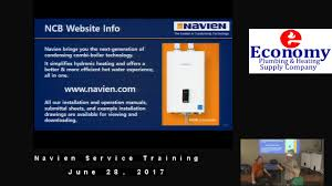 Navien Service Training June 28 17