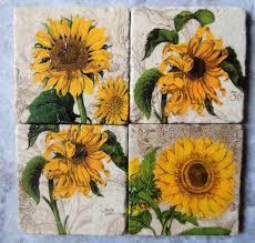 Sunflower Kitchen Decor Set