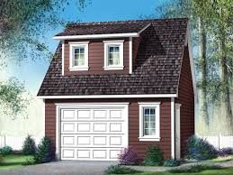 Shed Dormer Plans by Garage Plans With Loft Garage Loft Plan With Shed Dormer