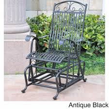 Details About Vintage Style Black Iron Glider Chair Sturdy Outdoor Garden  Rocker Rocking Seat Better Homes Gardens Bay Ridge Rocking Chair With Gray Cushions Walmartcom Details About Rare Swedish Vintage 1950s Plywood Baby Child Polywood Shr22bl Black Seashell 1960s In Red Plastic Strings On Metal Frame Mainstays Jefferson Outdoor Wrought Iron Porch Heritage Rocking Chair Bali Sling Alinum Outindoor Pair Of Bronze Swivel Rockers For Ding Balcony Or Deck Handmade Acapulco Papasan Royaltyfree Photo Selective Focus Otography Black Scrollwork Design Decorative Patio Garden Great Deal Fniture 304345 Muriel Wicker Cushion And White Outsunny Versatile Inoutdoor High Back Wooden
