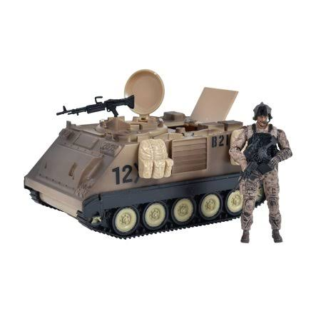 "Elite Force: M113 Desert Armored Vehicle with 3.75"" Figure Moc"