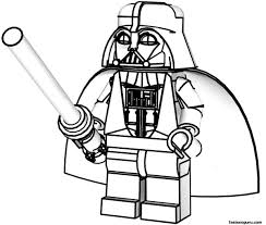 Star Wars Coloring Pages And Book Lego