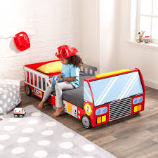 Kids Fire Truck Bed Car Toddler Safety Rails Bedroom Crib Transition ... Bed System Midsize Decked Storage Truck Bed And Breakfast Duluth 13 Cool Pieces Of Kids Fniture On Etsy Rooms Nurseries Turbocharged Twin Step2 Fire Bunk Beds Funny Can You Build A Boys Buy A Custom Semitractor Frame Handcrafted Yamsixteen Attractive Platform Diy About Pinterest The 11 Best For Rooms New Timykids