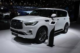 2018 Infiniti QX80 SUV Is A Deluxe Dubai Debut - Roadshow Infiniti Qx80 Reviews Research New Used Models Motor Trend To Infinity And Beyond The Pizza Planet Truck In Real Life Monograph Concept Will It Go Production 2017 2018 Suv Is A Deluxe Dubai Debut Roadshow Trucks Diesel Tohatruck Gearing Up For Families Arundel Journal Tribune Finiti Of Charlotte Luxury Cars Suvs Dealership Servicing 2016 Larte Design Missuro 2019 Qx50 Preview Crossovers Usa